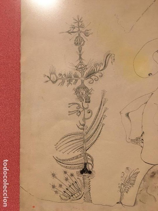 Arte: Joan ponç tinta Dau al set, etiqueta museo prado - Foto 4 - 104214947