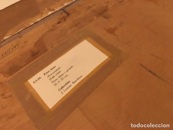 Arte: Joan ponç tinta Dau al set, etiqueta museo prado - Foto 9 - 104214947