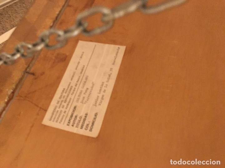 Arte: Joan ponç tinta Dau al set, etiqueta museo prado - Foto 12 - 104214947