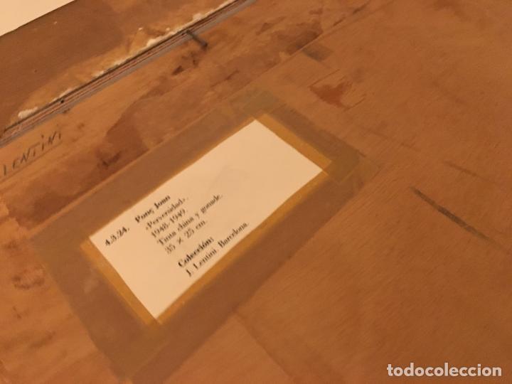 Arte: Joan ponç tinta Dau al set, etiqueta museo prado - Foto 14 - 104214947