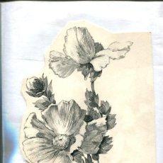 Arte: DIBUJO ORIGINAL DE I VENTURA (1974). Lote 104296907