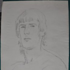 Arte: LUTZ HEYDER , 1950 - 2000 , DIBUJO A LAPIZ ORIGINAL , . Lote 105314171