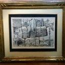 Arte: PINTURA ENMARCADA CON TEMÁTICA PAISAJÍSTICA DE BARCELONA. Lote 99547243