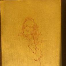 Arte: JOSE DUARTE, TÉCNICA SANGUINA. . Lote 105407999