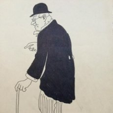 Arte: OBRA DEL MAESTRO DEL DIBUJO Y DISCÍPULO DE GAUDÍ RICARDO OPISSO I SALA (TARRAGONA 1880-BCN 1966). . Lote 105601771