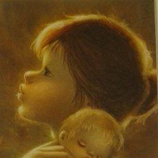 Arte: SALVADO ALTARRIBA PINTOR NACIDO EN CABRIANES (SALLENT) EN 1935. EN 1959 SE TRASLADÓ A SABADELL. Lote 105894411