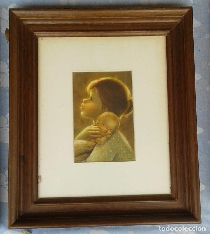 Arte: Salvado Altarriba Pintor nacido en Cabrianes (Sallent) en 1935. En 1959 se trasladó a Sabadell - Foto 2 - 105894411
