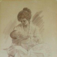 Arte: SALVADO ALTARRIBA PINTOR NACIDO EN CABRIANES (SALLENT) EN 1935. EN 1959 SE TRASLADÓ A SABADELL. Lote 105925111