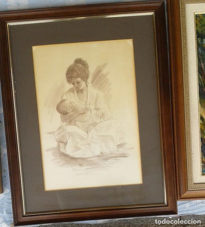 Arte: Salvado Altarriba Pintor nacido en Cabrianes (Sallent) en 1935. En 1959 se trasladó a Sabadell - Foto 2 - 105925111