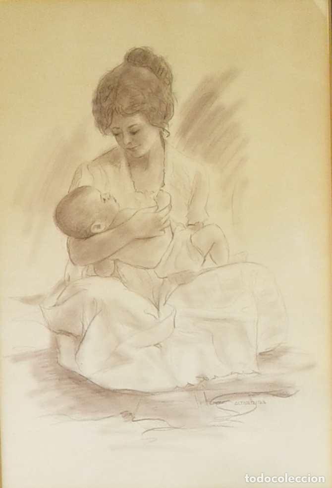 Arte: Salvado Altarriba Pintor nacido en Cabrianes (Sallent) en 1935. En 1959 se trasladó a Sabadell - Foto 3 - 105925111