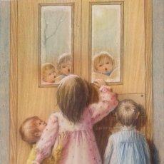 Arte: SALVADO ALTARRIBA PINTOR NACIDO EN CABRIANES (SALLENT) EN 1935. EN 1959 SE TRASLADÓ A SABADELL. Lote 105929135