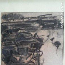 Arte: GIMENO ARASA, FRANCISCO (1858-1927), DIBUJO AL CARBON. 30X23CMS. Lote 106089615