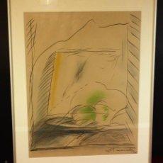 Arte: K3-037. COMPOSICIÓN MIXTA SOBRE PAPEL. ALBERT RÀFOLS-CASAMADA. ESPAÑA. 1974.. Lote 107175235