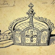 Arte: DIBUJOS DECORATIVOS. PLUMILLA SOBRE PAPEL. ANÓNIMO. ESPAÑA. XIX-XX. Lote 107205811