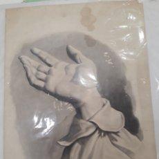 Arte: DIBUJO FIRMADO JOSÉ GONZÁLEZ 1889. Lote 107227563