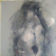 Arte: GLORIA MUÑOZ. TÉCNICA MIXTA SOBRE PAPEL. FIRMADA. Lote 107425203