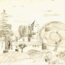 Arte: JORDI SAMSÓ   PAISAJE. Lote 107849815