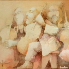 Arte: JORGE LUDUEÑA, MAGNIFICO DIBUJO FIRMADO.. Lote 108376288