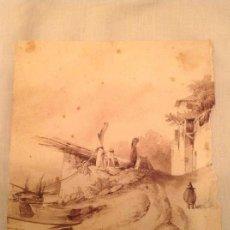 Arte: JOSÉ MARÍA TAMBURINI. PAISAJE. Lote 108398071