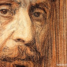 Arte: RETRATO DE HOMBRE. DISANGUINA Y CARBONCILLO. FIRMADO MARTI GRAS. BÉLGICA. 1910. Lote 109432775