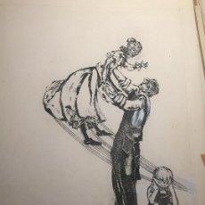 Arte: CIRO ODUBER (PANAMÁ 1921-BARCELONA 2002), OBRA ORIGINAL CATALOGADA.. Lote 109573795