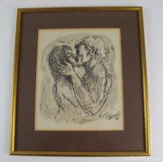 Arte: C-665. DIBUJO ROTULADOR Y TINTA SOBRE PAPEL. FIRMADO STEPHANE, S.XX.. Lote 109788103