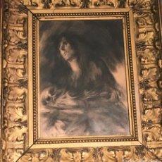 Arte: DIBUJO POR FRANCISCO DOMINGO MARQUÉS (VALENCIA 1842- MADRID 1920). Lote 110000195
