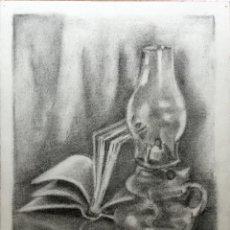 Arte: BODEGÓN DEL DIBUJANTE Y ACUARELISTA CATALÁN FRANCESC SANDIUMENGE I GAY (BCN 1930-2017). Lote 110053163