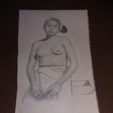 Arte: DIBUJO ANTIGUO.ORIGINAL. Lote 111216094