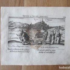Arte: 1623- OSUNA. SEVILLA. VISTA CIUDAD. GRABADO ORIGINAL DE DANIEL MEISNER. . Lote 111333343