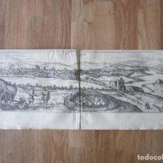 Arte: 1575-ECIJA.VISTA CIUDAD.SEVILLA.GRABADO ORIGINAL DE BRAUN-HOGENBERG.. Lote 111341011