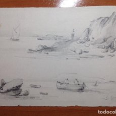 Arte: JOSÉ GARTNER. PAISAJES COSTEROS.. Lote 111505787