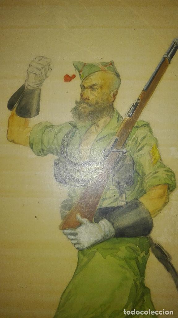 Arte: Precioso dibujo de un legionario marchando - Foto 2 - 111971179