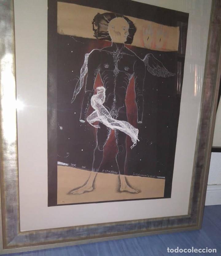 Arte: Eduardo Hernández Santos (Cuba 1966) Ser un espejismo intercambiable. Técnica mixta. Arte gay cubano - Foto 4 - 112142771