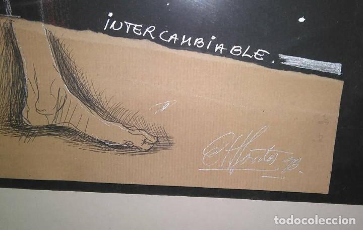 Arte: Eduardo Hernández Santos (Cuba 1966) Ser un espejismo intercambiable. Técnica mixta. Arte gay cubano - Foto 5 - 112142771