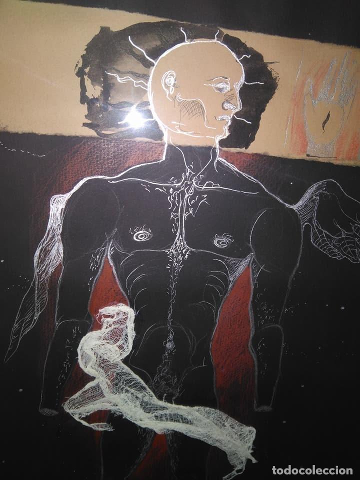 Arte: Eduardo Hernández Santos (Cuba 1966) Ser un espejismo intercambiable. Técnica mixta. Arte gay cubano - Foto 8 - 112142771