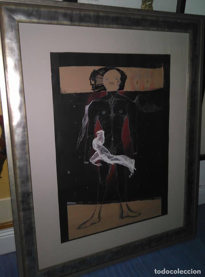 Arte: Eduardo Hernández Santos (Cuba 1966) Ser un espejismo intercambiable. Técnica mixta. Arte gay cubano - Foto 9 - 112142771