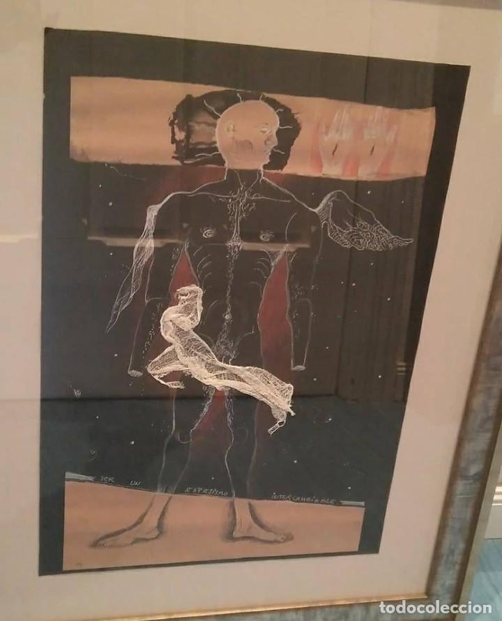 Arte: Eduardo Hernández Santos (Cuba 1966) Ser un espejismo intercambiable. Técnica mixta. Arte gay cubano - Foto 11 - 112142771