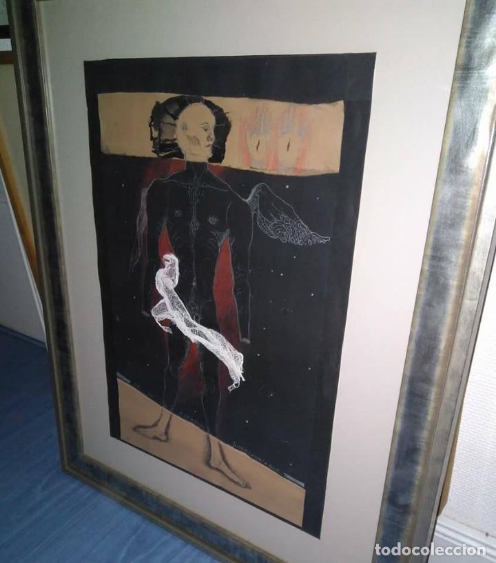 Arte: Eduardo Hernández Santos (Cuba 1966) Ser un espejismo intercambiable. Técnica mixta. Arte gay cubano - Foto 13 - 112142771