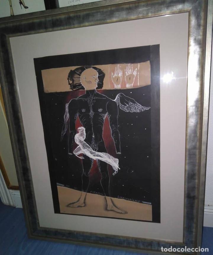 Arte: Eduardo Hernández Santos (Cuba 1966) Ser un espejismo intercambiable. Técnica mixta. Arte gay cubano - Foto 14 - 112142771