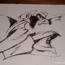 Arte: DIBUJO FIRMADO POR JOSÉ BARCELO.. Lote 112531875