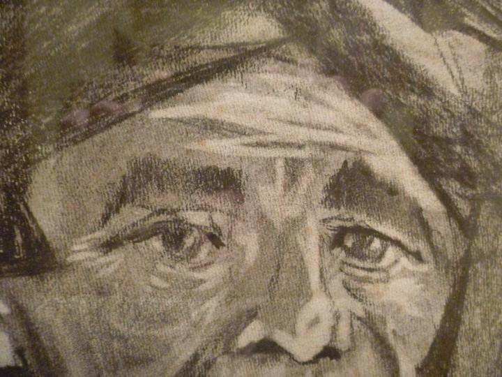 Arte: ARRANTZALE EXTRAORDINARIO RETRATO LUZURIAGA JUAN RAMÓN PINTURA PESCADOR VASCO - Foto 18 - 112787343