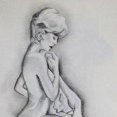 Arte: DESNUDO OBRA DE GILABERTE. Lote 113377279