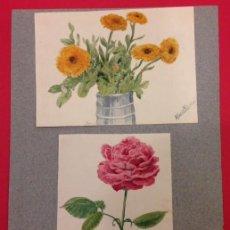 Arte: PINTURA ORIGINAL DE ALBERT BENOIS 1929 ACUARELA.. Lote 113569819