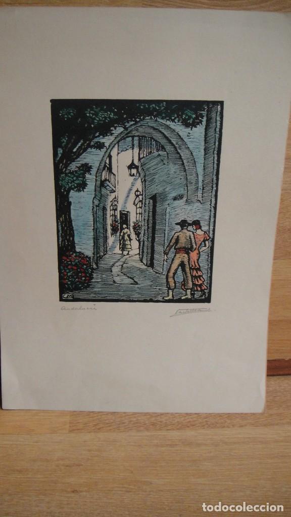 DIBUJO A TINTA - FIRMADO (Arte - Dibujos - Contemporáneos siglo XX)
