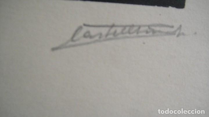 Arte: dibujo a tinta - firmado - Foto 3 - 113790719