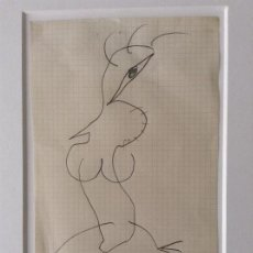 Art: CARLOS ALCOLEA DIBUJO ORIGINAL 1988. Lote 114002319