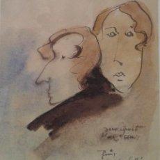 Arte: CARDELLA, CARLES. CARDELLÁ PINTOR Y DIBUJANTE BARCELONÉS NACIDO HACIA 1940. Lote 114195095