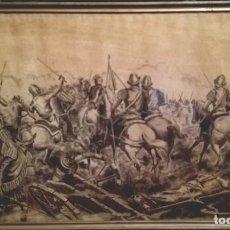 Arte: ESCENA DE BATALLA DE LOS TERCIOS. EJÉRCITO ESPAÑOL EN FLANDES.. Lote 114335715