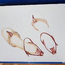 Arte: BONITA ACUARELA NO ACABADA DE LA ILUSTRADORA Y DISEÑADORA MARINA SANCHEZ 32,6CM X 46CM. Lote 114475940